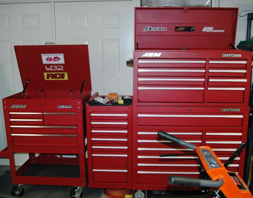 harbor freight - 5 drawer rolling tool chest - $136 w/ 20% off